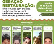 Plant-for-the-Planet Brasil e PNUMA realizam Live com jovens sobre questões ambientais