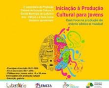 Oficina de Produção Cultural para Jovens está com inscrições abertas e gratuitas em Campinas/SP